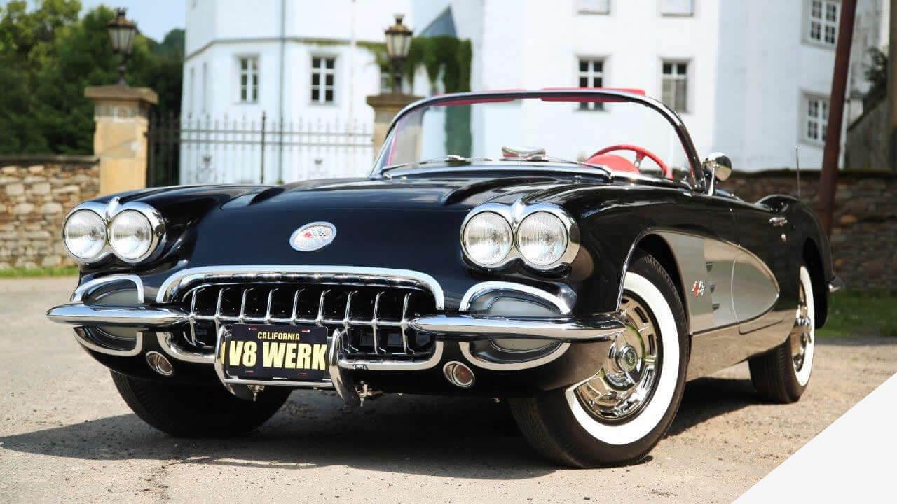 eine C1 von 1959 - durch das V8 Werk originalgetreu restauriert.