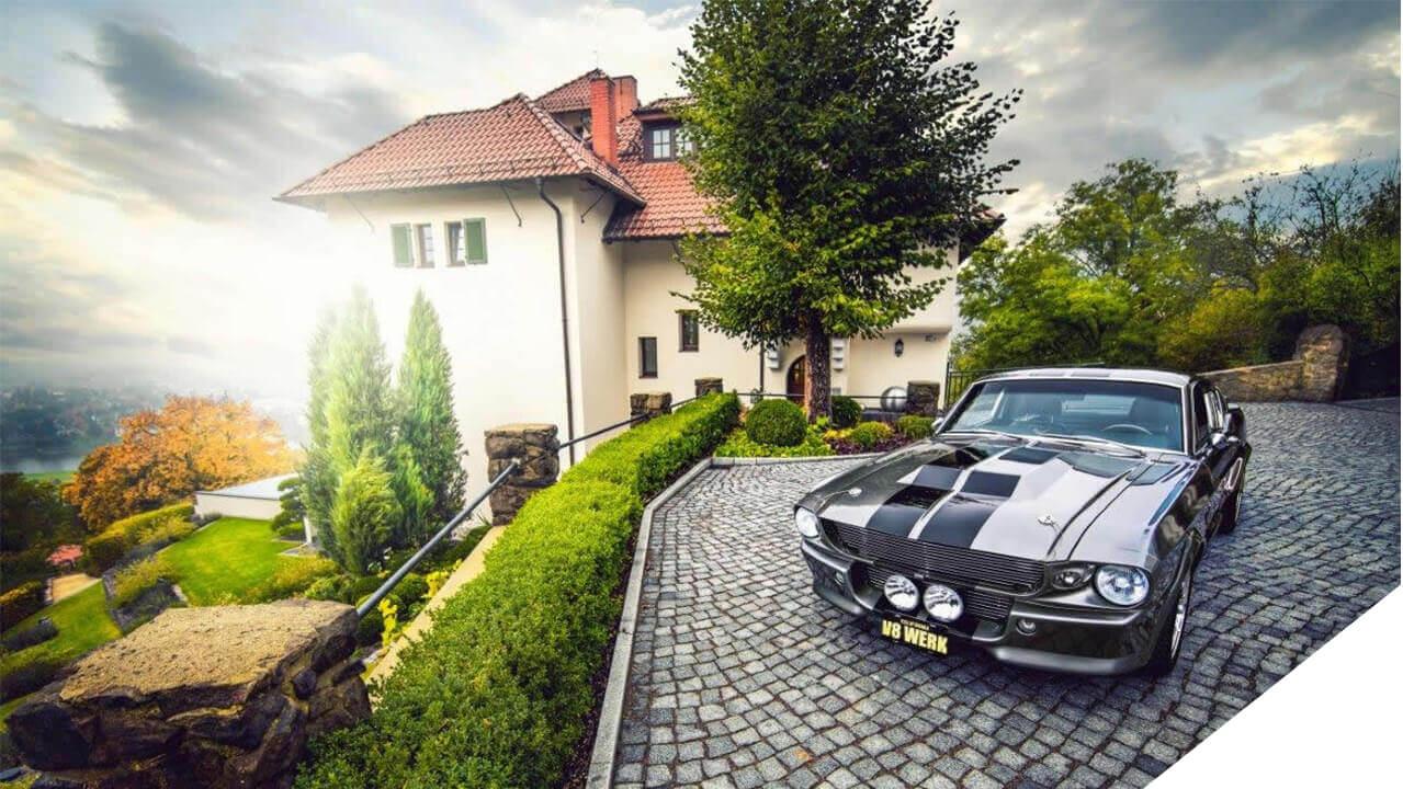Ford Mustang ELI I V8 Werk - ein Restmod, gefertigt im V8 Werk