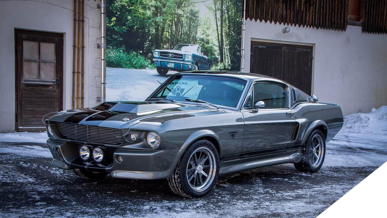 Ford Mustang Eli III im V8 Werk