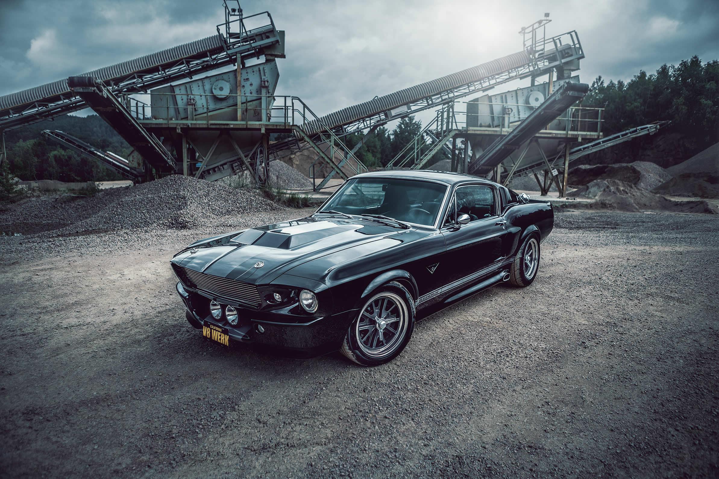 1967 Ford Mustang ELI II - ein Restomod der Extraklasse vom V8 Werk.