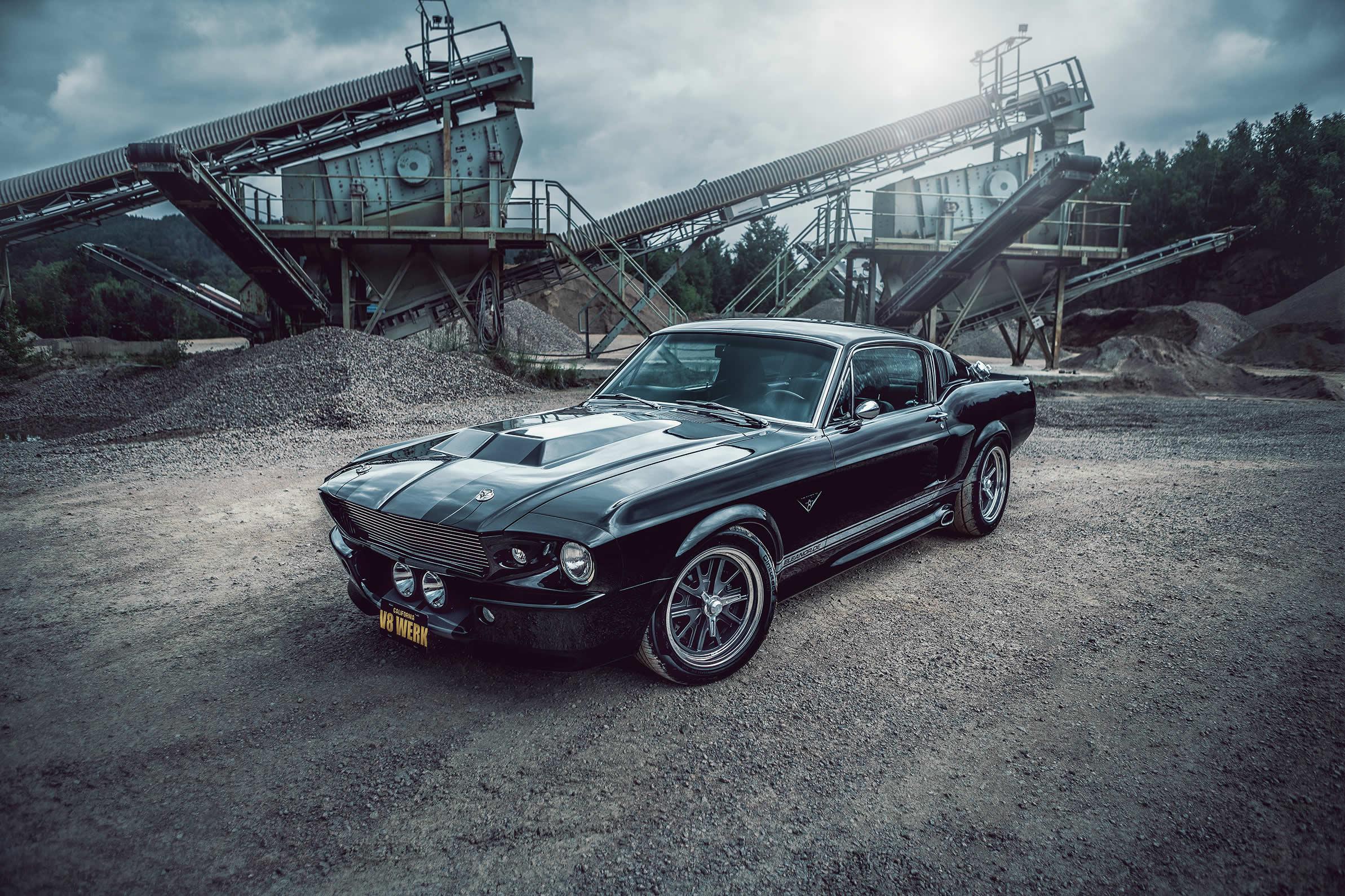 Ford Mustang von 1967 - ein individueller Restomod des V8 Werk